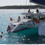 Lagoon 500 ionian islands sailing charter