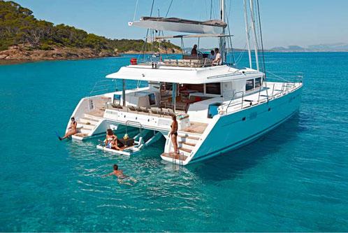 Vacanze in barca a vela catamarano caicco in Grecia