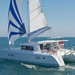 Lagoon 421 Sailing yacht charters Aeolian islands