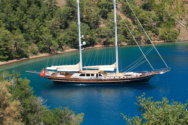 Private Gulet charter Turkey