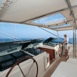 Luxury sailing yacht for private cruise and charters