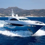 Luxury power yacht in Greece Panther-2