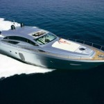 Pershing power yacht Sardinia