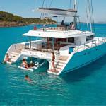 Lagoon 560 sailing yacht charters